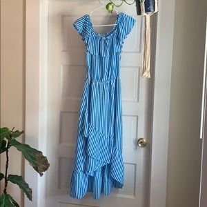 Tommy Bahama Blue&White Striped Dress